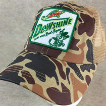 Dewshine Hat Mt Dew Soda Camo Cap Dew Shine Patch Adjustable Mesh Trucker Pop Photo