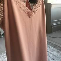 Dex Tea Rose Nude Blush Pink Vest Top Size Small Rrp 22 Photo