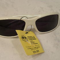 Deziner Xix Alternative Sunglasses Lens Uv 400 Protection White Frames Nos Photo