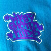 Dgk Skateboards Dirty Ghetto Kids Graffiti Teal/purple Large Photo