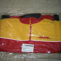 Dhl Express New Vintage Full-Zip Fleece Jacket 2xl Yellow Red Black New Photo