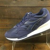 Diadora V7000 Mens Blue Suede Running Casual Shoes Mens Size 10 Excellent Photo