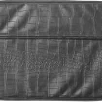 Diamond Croc Laptop Bag Black Photo
