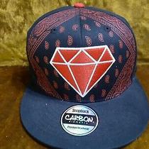 Diamond Snap Back Carbon Element Hat Photo