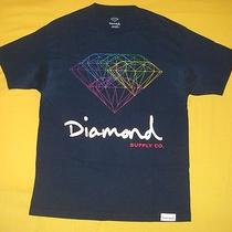 Diamond Supply Co All for One Multi Rainbow Prism Tee L Adult Swim Tv Wardrobe Photo