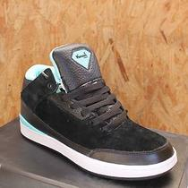 Diamond Supply Co. Size 7 Marquise Aqua Black Suede High Top Men's Sneaker Photo