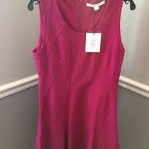 Diane Von Furstenberg Alice Dress in Rosy Blush Sz 12 Fit & Flare Wear to Work Photo