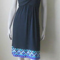Diane Von Furstenberg Banded Fran Dress 10 Us Photo