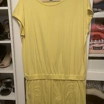Diane Von Furstenberg Drop-Waist Yellow Dress Sizel Photo