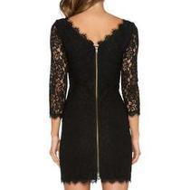 Diane Von Furstenberg Dvf Black Lace Zarita Dress Uk 12 14 (Us 12) 375 Sold Out Photo