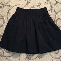 Diane Von Furstenberg Little Black Skirt Sz 6 Photo