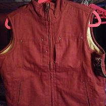 Dickie's Women's Work Vest Construction Labor Carhartt Farming Electric Outdoors Photo