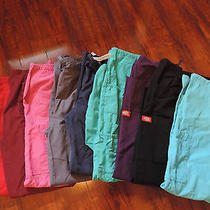 Dickie Urbane and Other Lot of 9 Scrub Pants Photo