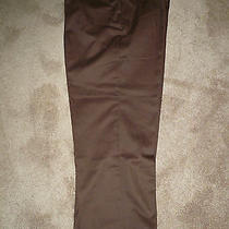 Dickie Work Pants  Waist 46  Lenght 30 Inseam 29... Color Brown Photo