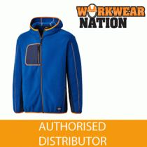 Dickies 22 Pembroke Fleece Work Hoodie Royal Blue/orange Photo