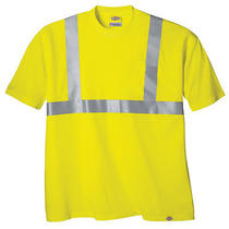 Dickies 2extra Large High Visibility Ansi Class 2 T-Shirt in Yellow Photo