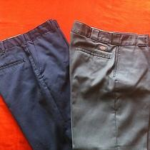 Dickies 874 Original Fit Work Pants Size 34x32 and Other Work Pant 32x32 Photo