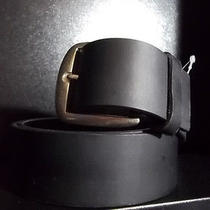 Dickies Black Leather Belt Photo