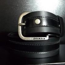 Dickies Black Leather Belt Photo