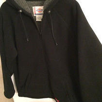 Dickies Black Pro Fleece Jacket Medium  Free Shipping Photo