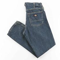 Dickies  Blue Denim Regular Straight Jeans Mens W30 L30 Photo