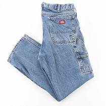 Dickies  Blue Denim Regular Straight Jeans Mens W36 L32 Photo