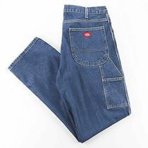 Dickies  Blue Denim Regular Straight Jeans Mens W36 L34 Photo