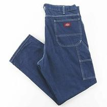 Dickies  Blue Denim Regular Straight Jeans Mens W38 L30 Photo