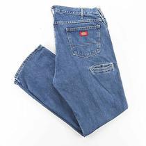 Dickies  Blue Denim Regular Straight Jeans Mens W38 L32 Photo