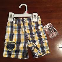Dickies Boy's Woven Modern Fit Plaid Shorts (12 Months) Photo