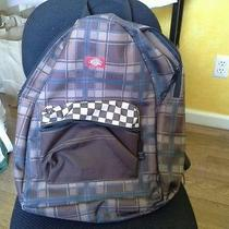 Dickies Brown Checkered Backpack  Photo