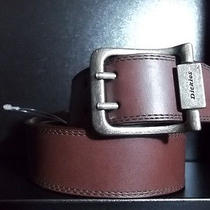 Dickies Brown Leather Belt Photo