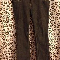 Dickies Dark Gray Washed Straight Leg Jeans Size 18w Plus Size Cotton Blend Photo