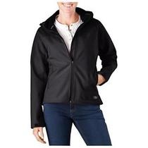 Dickies Fj372bk L Womens Softshell Jacket Black Large Photo