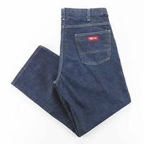 Dickies Fr Blue Denim Regular Straight Jeans Mens W36 L30 Photo
