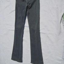 Dickies Girl  Black Stretch Skinny Boot Cut Pants Size 7 Photo