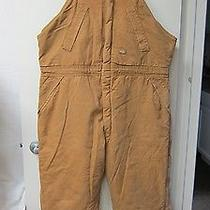 Dickies Heavy Insulated Bib Overalls. Hunting Freezer Cold Work. Sz 2xl Photo