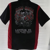 Dickies Laughlin River Run 2014 Shirt Medium Ride Hard (997) Photo