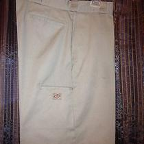 Dickies Mens Cell-Pocket Khaki Shorts   Size 36 Photo