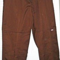 Dickies Men's Pants Brown 36 X 34 Like New Casual Photo