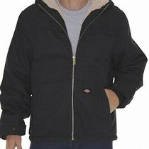 Dickies Mens Jackets Black Size 4xl Big & Tall Sherpa-Lined Hooded 70 931 Photo