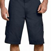 Dickies Mens Navy Blue Size 30 Loose Fit 13