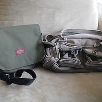 Dickies Messenger Bag and Cosmetic Hand Bag Purse Photo