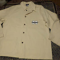 Dickies Moravian College White Painters Jacket / Lab Coat Unlined Sz Xl Mexico Photo