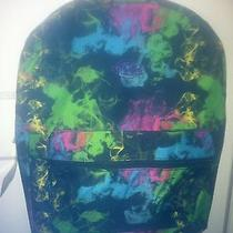 Dickies Multicolored Smoke Book Bag Back Pack Photo