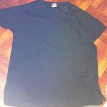 Dickies Scrub Shirt Top. Black. Size Xs. Unisex. Preowned. Free Ship Photo