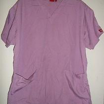 Dickies Scrub Top Size Large Photo
