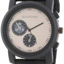 Dickies Unisex Dw542bk-Bk All Class Canvas Band Watch Photo