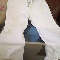 Dickies Vista Paint White Cargo Pants Photo