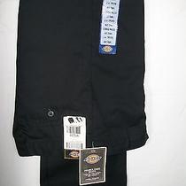 Dickies Women's Work Pants   Size 14  Waist 26 Adjustable Waist Band Double Knee Photo